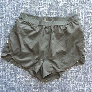 LUCY Like New Black Running Shorts, S